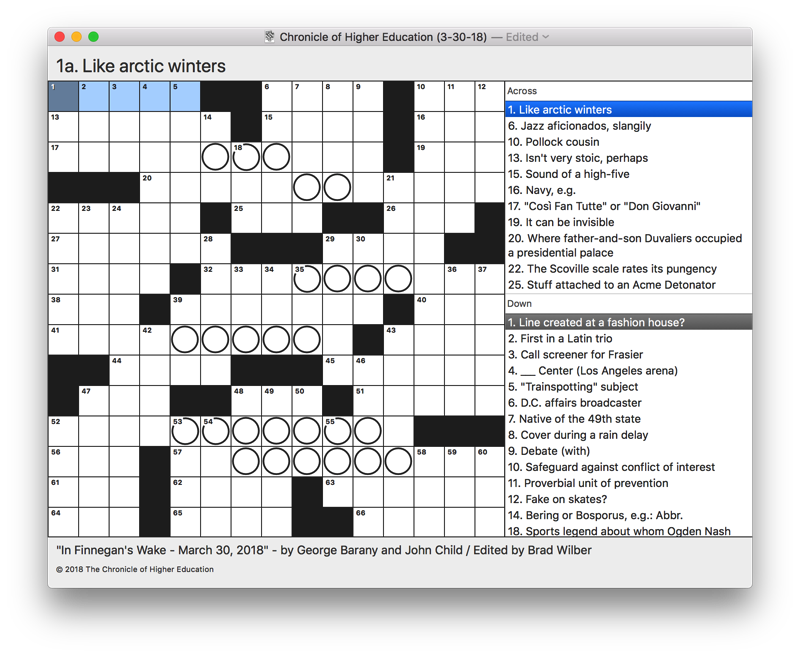 Screenshot of Black Ink 2's main puzzle solving interface.